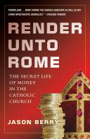 Render Unto Rome Pdf/ePub eBook