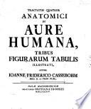 Tractatus quatuor anatomici de aure humana : tribus figurarum tabulis illustrati