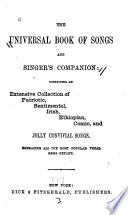 The Universal Book of Songs and Singer's Companion