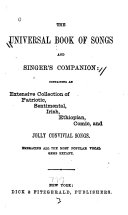 The Universal Book of Songs and Singer s Companion