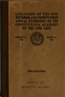 Catalogue of the     Annual Exhibition