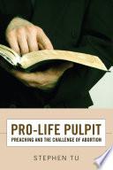 Pro Life Pulpit