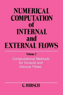 Numerical Computation Of Internal And External Flows Computational Methods For Inviscid And Viscous Flows Book PDF