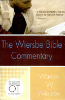 The Wiersbe Bible Commentary: Old Testament
