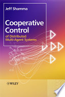 Cooperative Control of Distributed Multi-Agent Systems