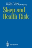 Sleep and Health Risk Book