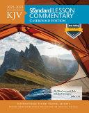 KJV Standard Lesson Commentary r  Casebound Edition 2021 2022