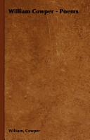 William Cowper Books, William Cowper poetry book