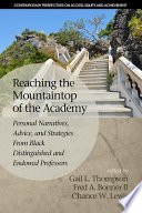 Reaching the Mountaintop of the Academy