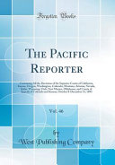 The Pacific Reporter Vol 46