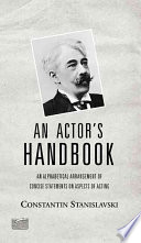 An Actor s Handbook Book PDF