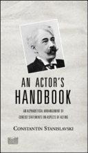 An Actor's Handbook ebook