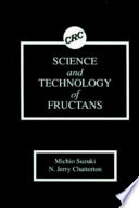 Science and Technology of Fructans Book