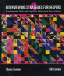 Interviewing Strategies For Helpers Book