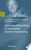 Conceptual Modelling In Information Systems Engineering Book PDF