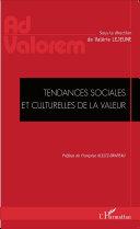 Pdf Tendances sociales et culturelles de la valeur Telecharger