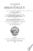 Catalogue de la bibliothèque de M. le Comte de Corbière ... Vente ... le 1er décembre 1869, etc