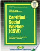 Certified Social Worker (CSW)