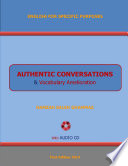 AUTHENTIC CONVERSATIONS & VOCABULARY AMELIORATION with Audio CD