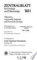 Symposium on Latin-American Geosciences