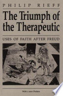 The Triumph Of The Therapeutic Book