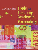 Tools for Teaching Academic Vocabulary