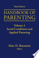 Handbook of Parenting Book