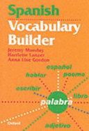 Spanish Vocabulary Builder