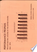 Performance Profiles  Private Electric Utilities in the United States  1963 1970