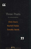 Three Poets In Conversation Book