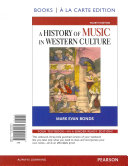 A History Of Music Western Culture Book PDF