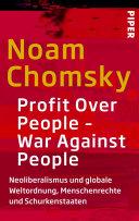Profit Over People – War Against People: Neoliberalismus und globale ...