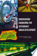 Underground Engineering for Sustainable Urban Development