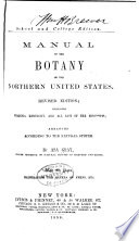 Manual of the Botany of the Northern United States Book