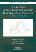 A Course in Differential Equations with Boundary Value Problems