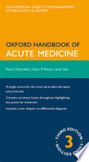 Oxford Handbook of Acute Medicine