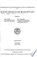Proceedings of the Second International Symposium on Silicon Molecular Beam Epitaxy