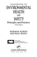 Handbook of Environmental Health and Safety Book