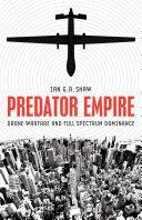 Predator Empire Book