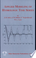 Applied Modeling of Hydrologic Time Series