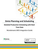 Simio Planning and Scheduling