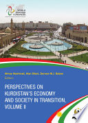 Perspectives On Kurdistan S Economy And Society In Transition