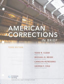 American Corrections in Brief Book