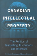 Canadian Intellectual Property Book