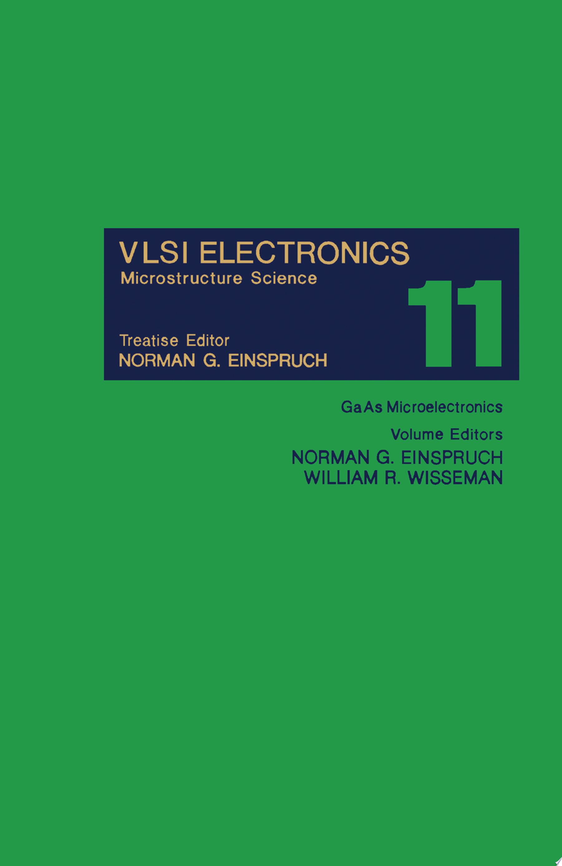 GaAs Microelectronics