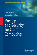 Privacy and Security for Cloud Computing [Pdf/ePub] eBook