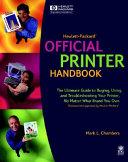 Hewlett Packard  Official Printer Handbook