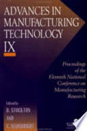 Advances In Manufacturing Technology IX