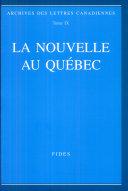 La nouvelle au Québec