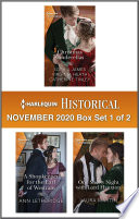 Harlequin Historical November 2020 - Box Set 1 of 2